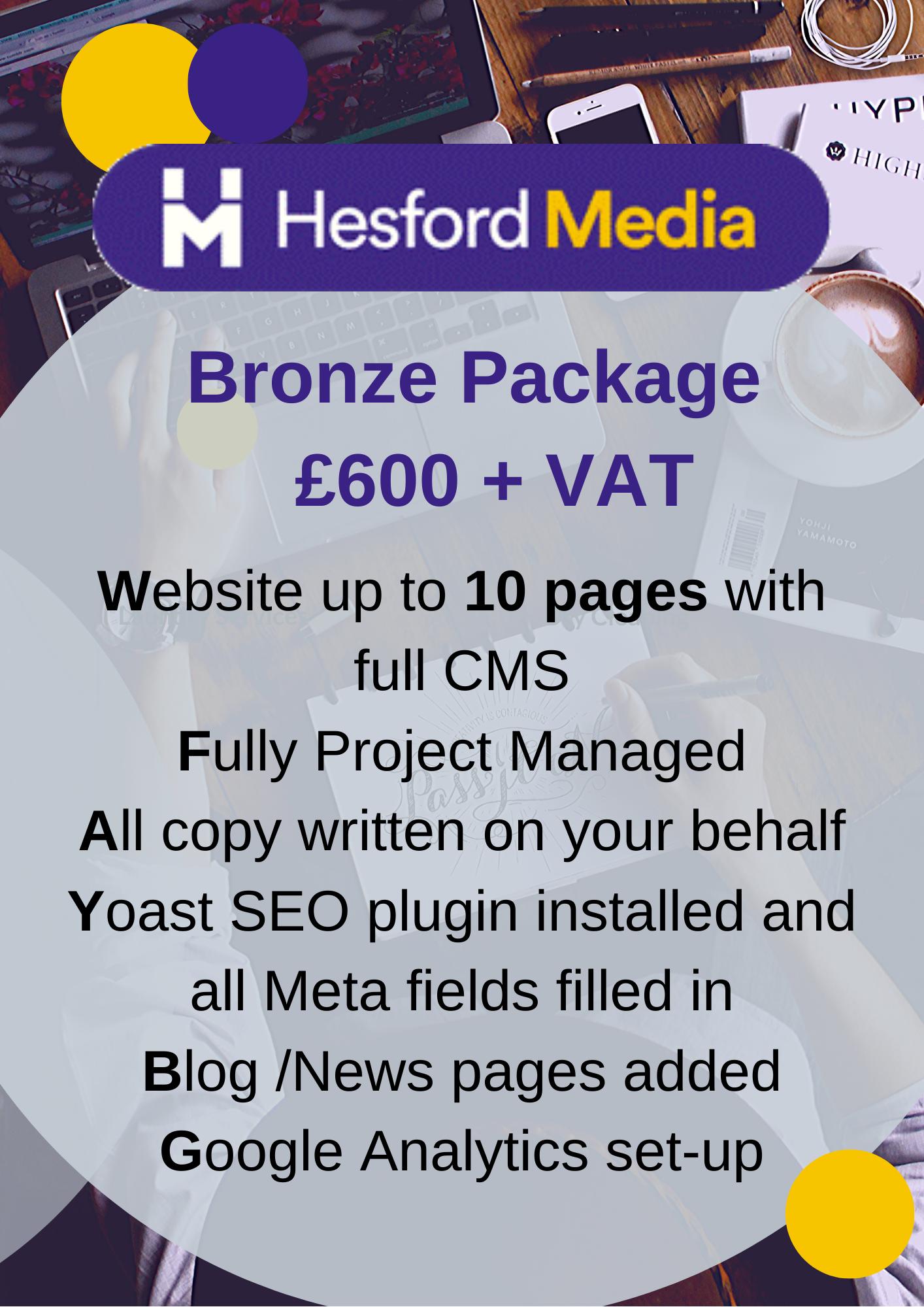Wordpress website package