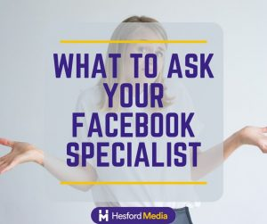 Is your Facebook specialist good