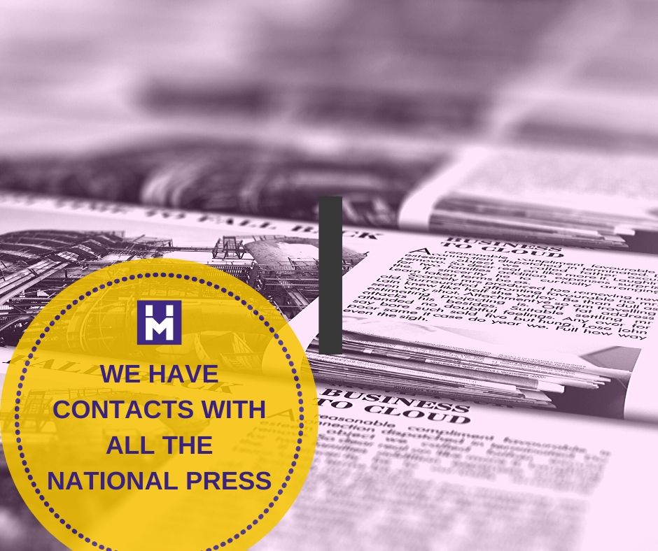 We have contacts with all of the National Press